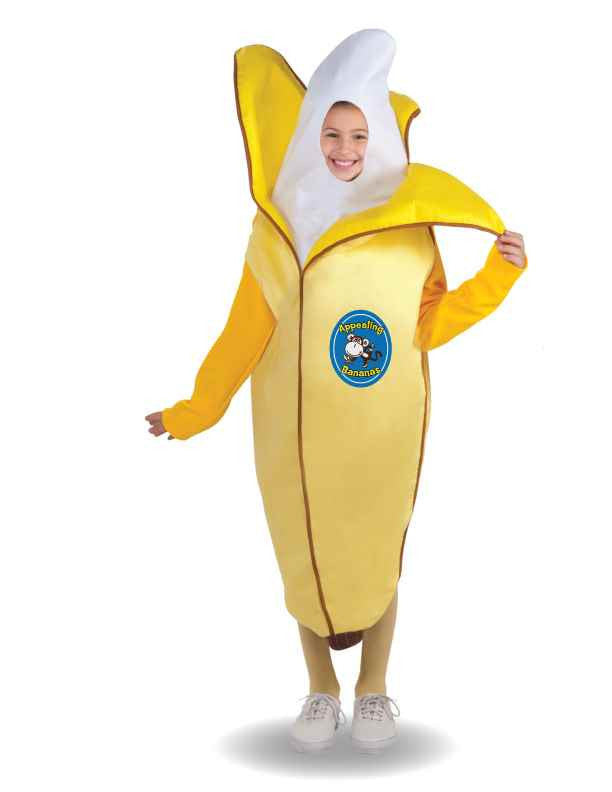 Kids A-pealing Banana Costume