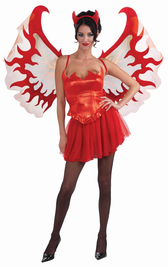 Jumbo Devil Costume Wings - HalloweenCostumes4U.com - Accessories
