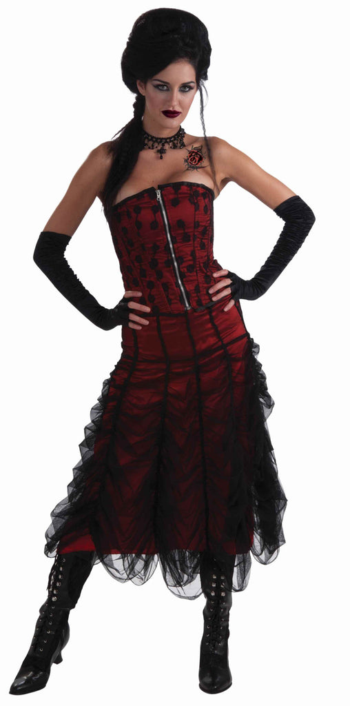Rose Lace Vampire Woman Halloween Corset