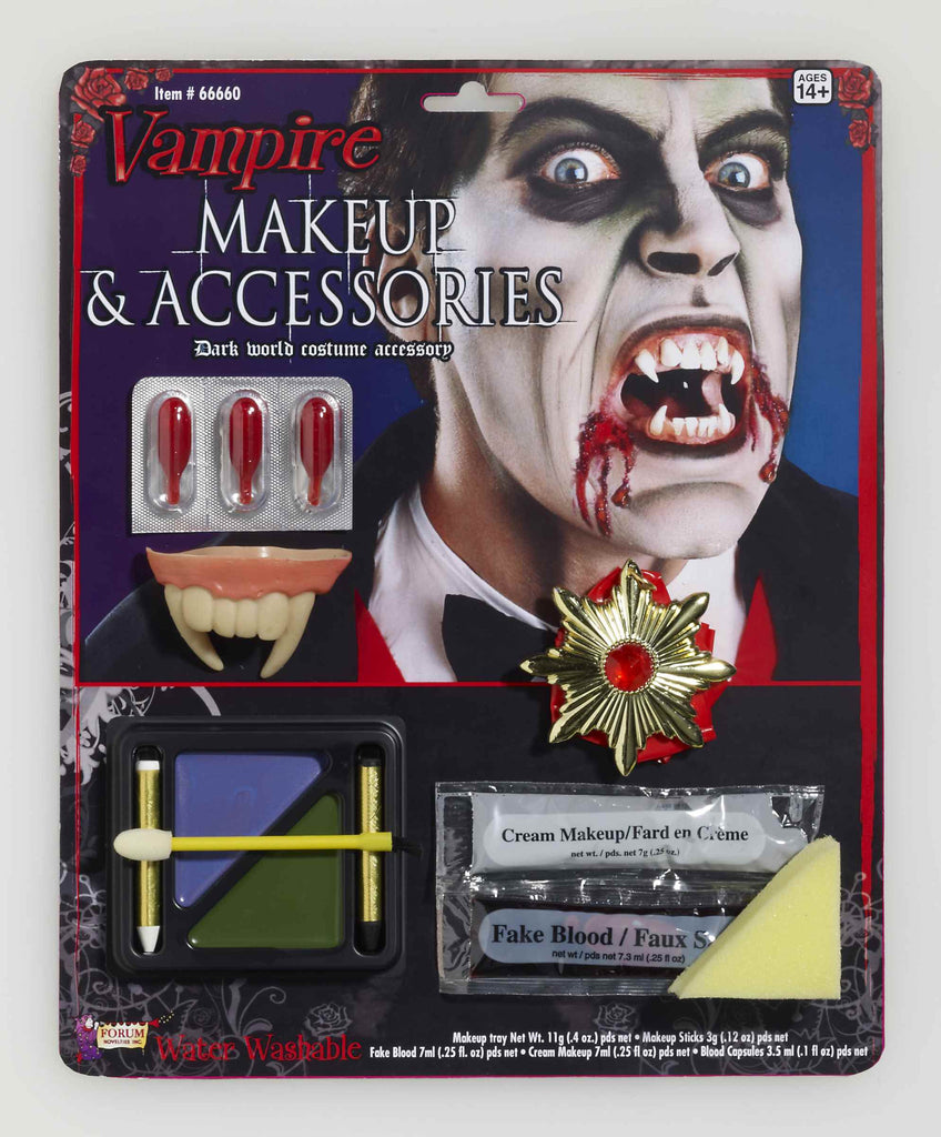 Vampire Makeup and Accessories Kit