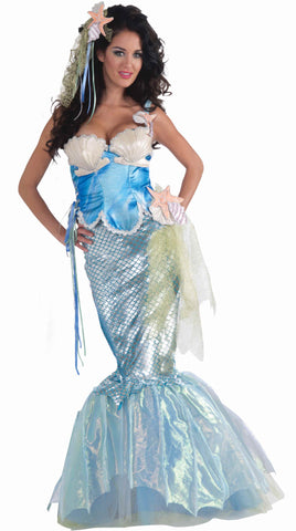 Neptune's Mermaid Women's Halloween Costume - HalloweenCostumes4U.com - Adult Costumes
