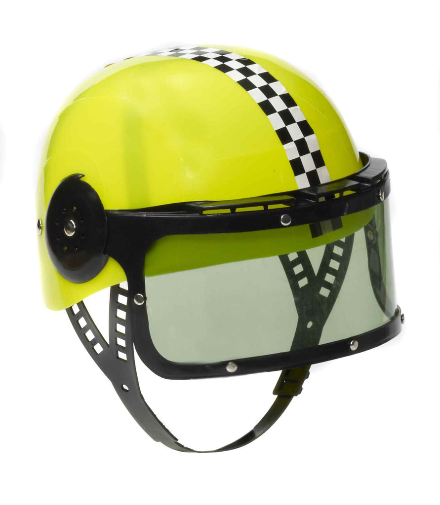 Costume Race Car Driver's Helmet - HalloweenCostumes4U.com - Accessories