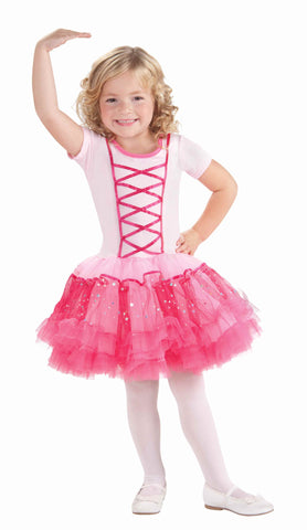 Little Girl's Ballerina Princess Costume - HalloweenCostumes4U.com - Kids Costumes