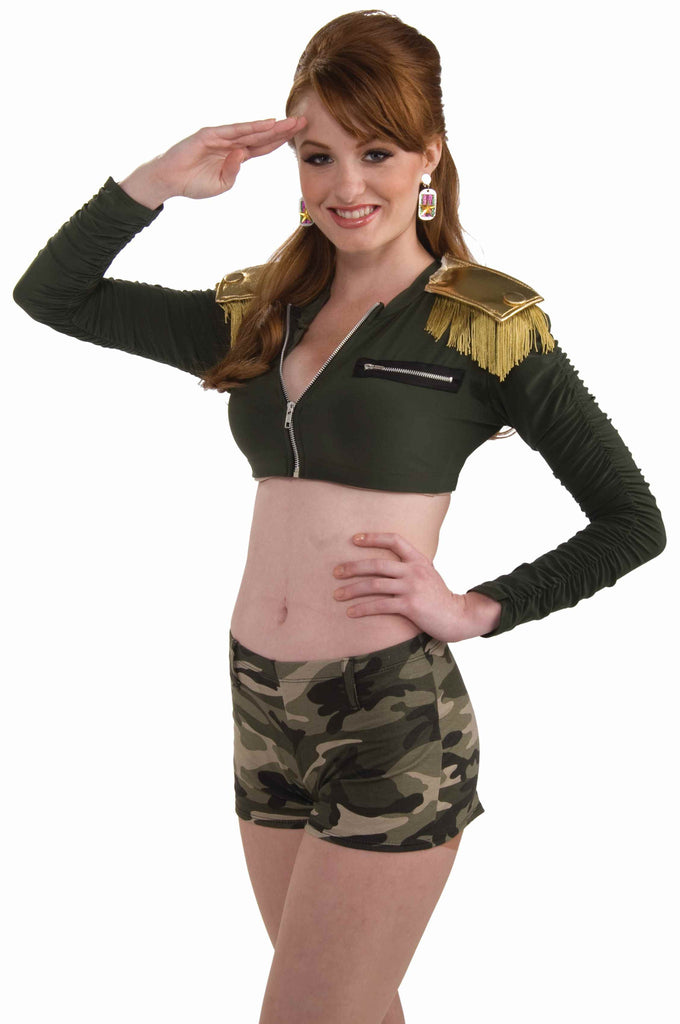 Combat Cutie Cropped Jacket