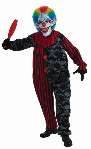 Mens Creepo the Clown Costume - HalloweenCostumes4U.com - Adult Costumes