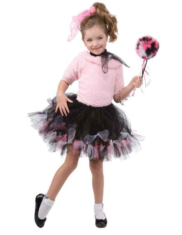 Girl's 50's Costume Tutu Skirt - HalloweenCostumes4U.com - Accessories