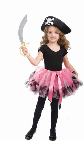 Girl's Pirate Costume Tutu Skirts - HalloweenCostumes4U.com - Accessories