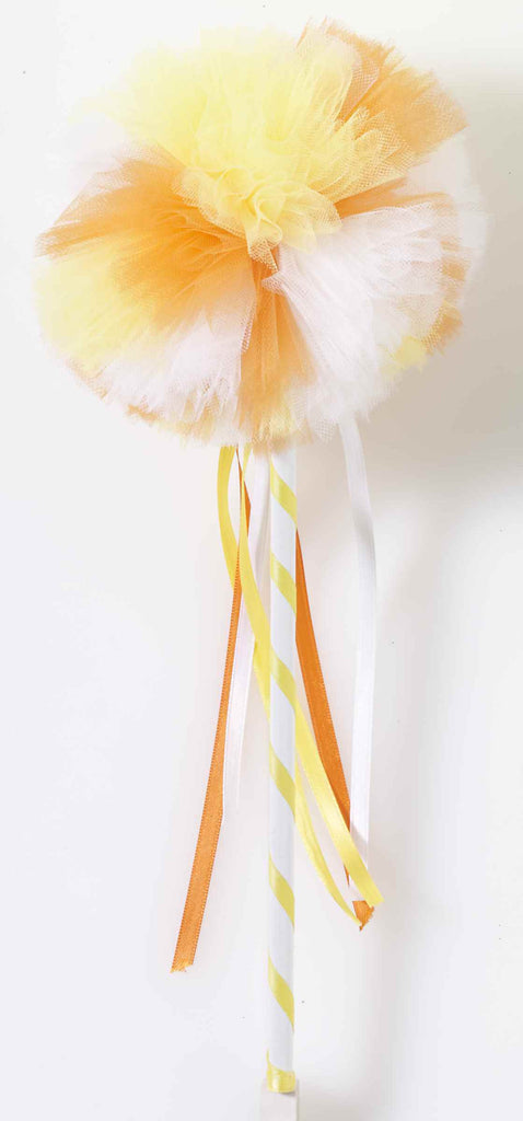 Halloween Wands Candy Corn Wand Accessory - HalloweenCostumes4U.com - Accessories