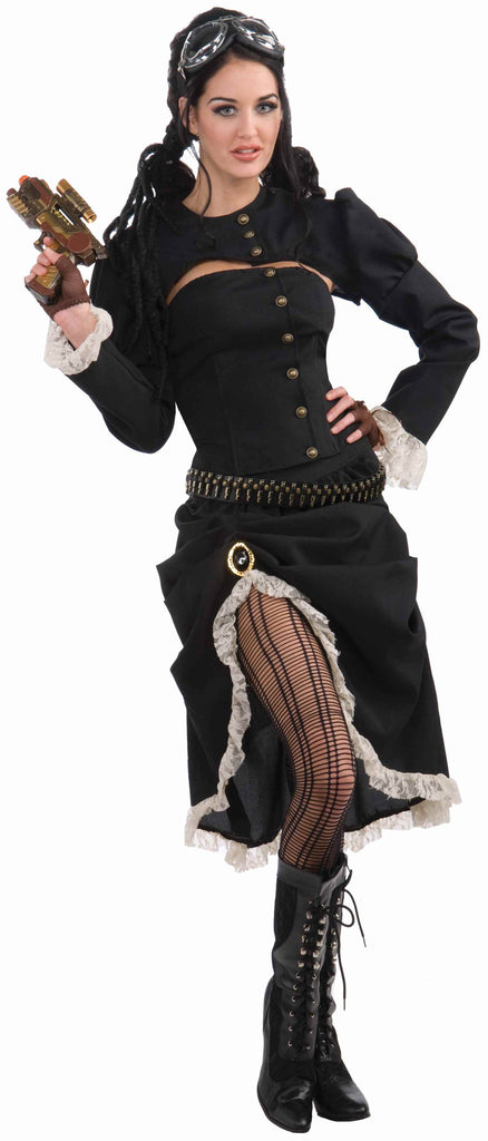 Renegade Steampunk Girl Costume for Women - HalloweenCostumes4U.com - Adult Costumes