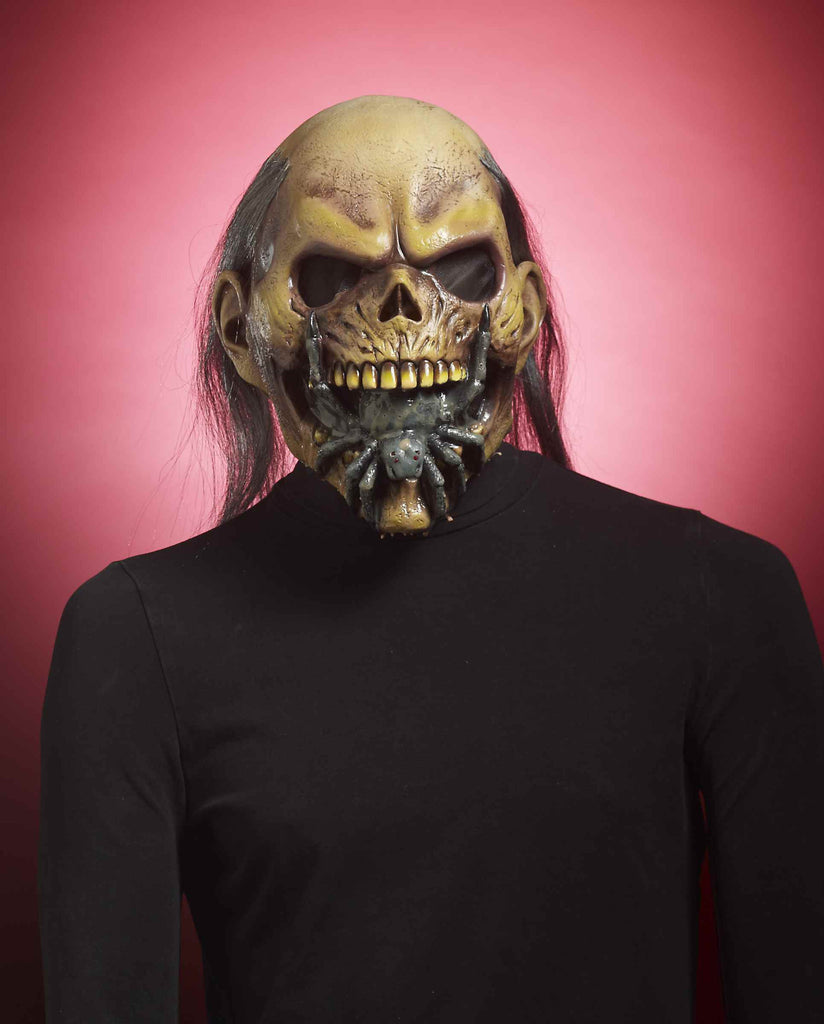 Spider Mouth Zombie Costume Mask - HalloweenCostumes4U.com - Accessories