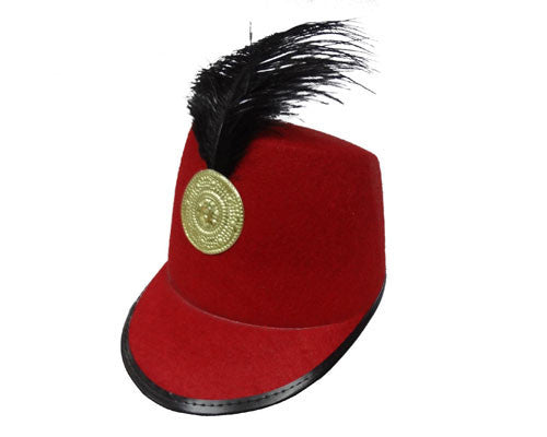 Red Marching Band Hat - HalloweenCostumes4U.com - Accessories