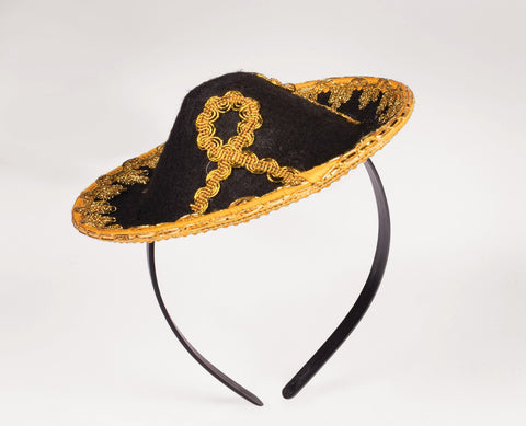 Sombrero Mini Hat Costume Accessory - HalloweenCostumes4U.com - Accessories