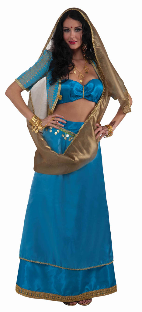Indian Costumes Deluxe Bollywood Woman Costume