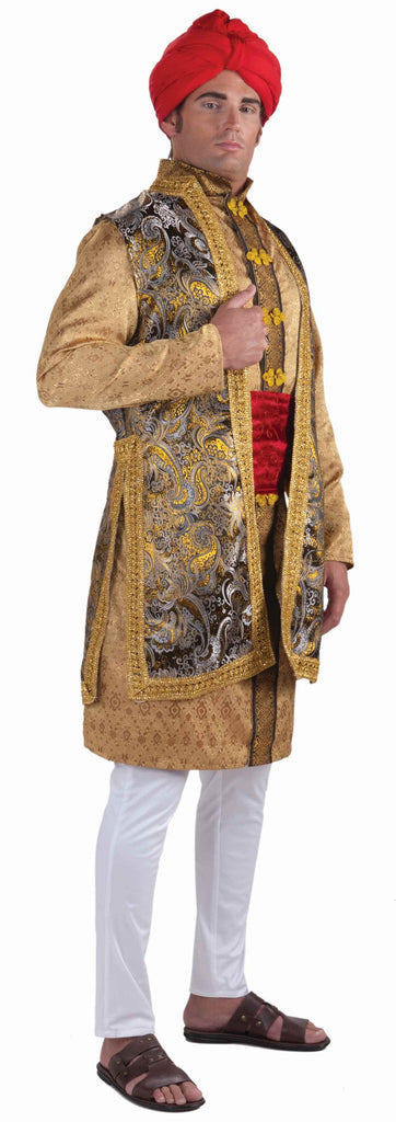 Deluxe Indian Man Costumes Maharaja Man