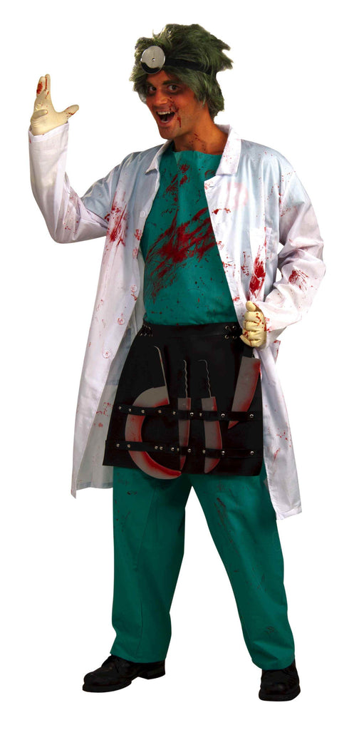Mens Psycho Surgeons Costume - HalloweenCostumes4U.com - Adult Costumes