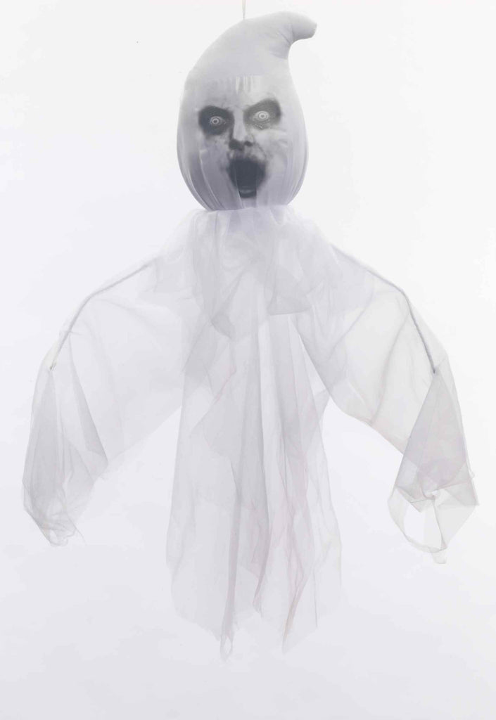 Large Hanging Ghost-Scary - HalloweenCostumes4U.com - Accessories