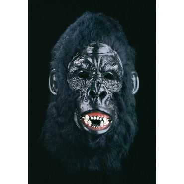 Black Bert Gorilla Mask - HalloweenCostumes4U.com - Accessories