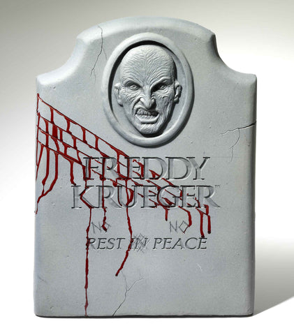 Freddy Krueger Halloween Headstone