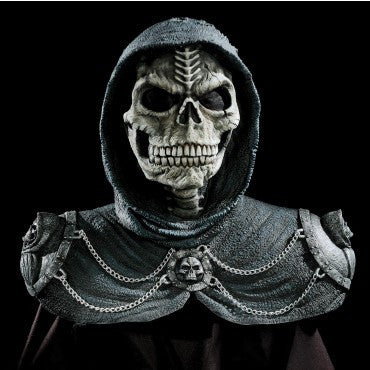 Dark Reaper Skull Mask - HalloweenCostumes4U.com - Accessories