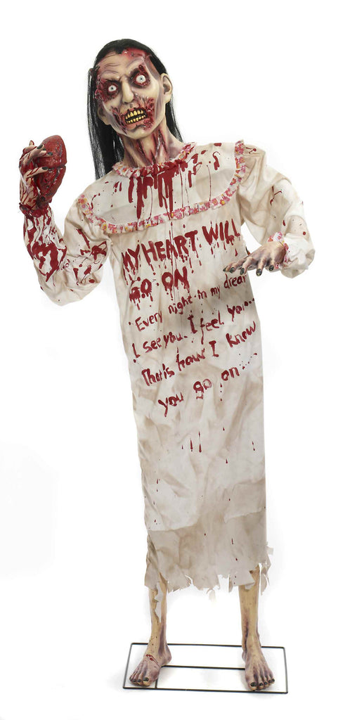 Heartless Zombie Standing Prop - HalloweenCostumes4U.com - Decorations
