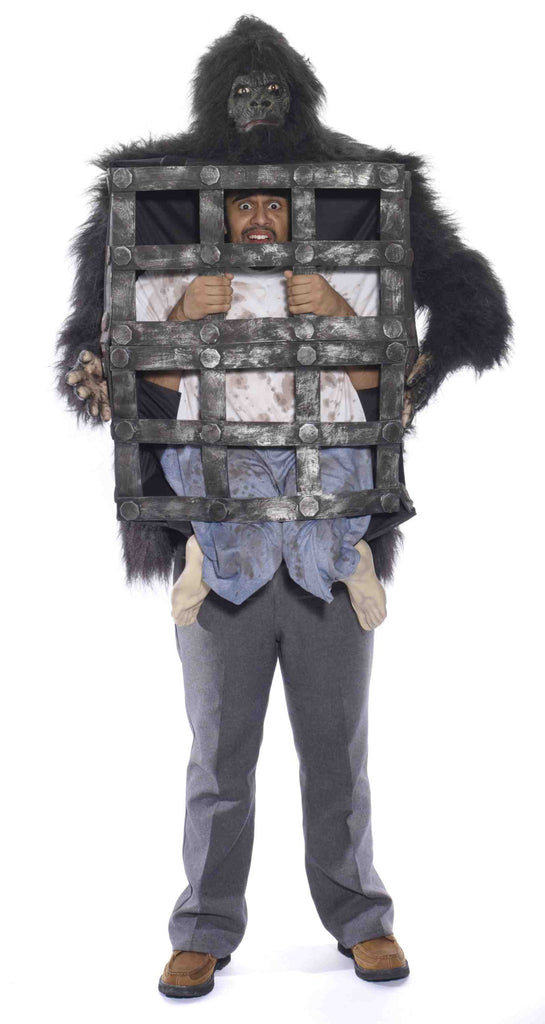 Gorilla With Cage - HalloweenCostumes4U.com - Accessories