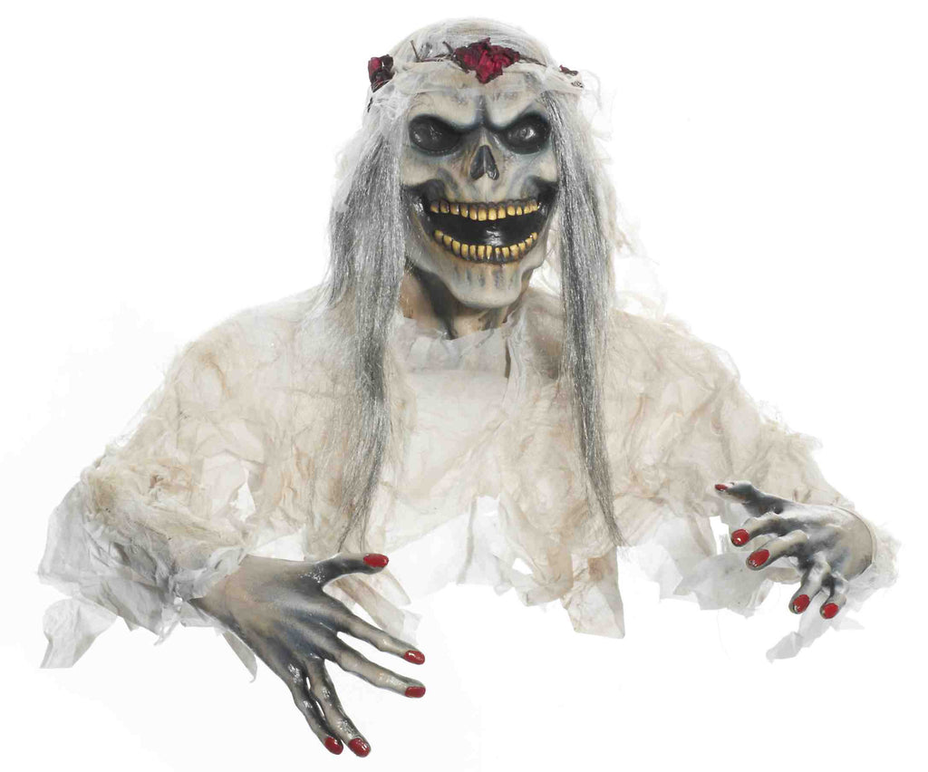 Out Of The Ground Bride Zombie - HalloweenCostumes4U.com - Accessories