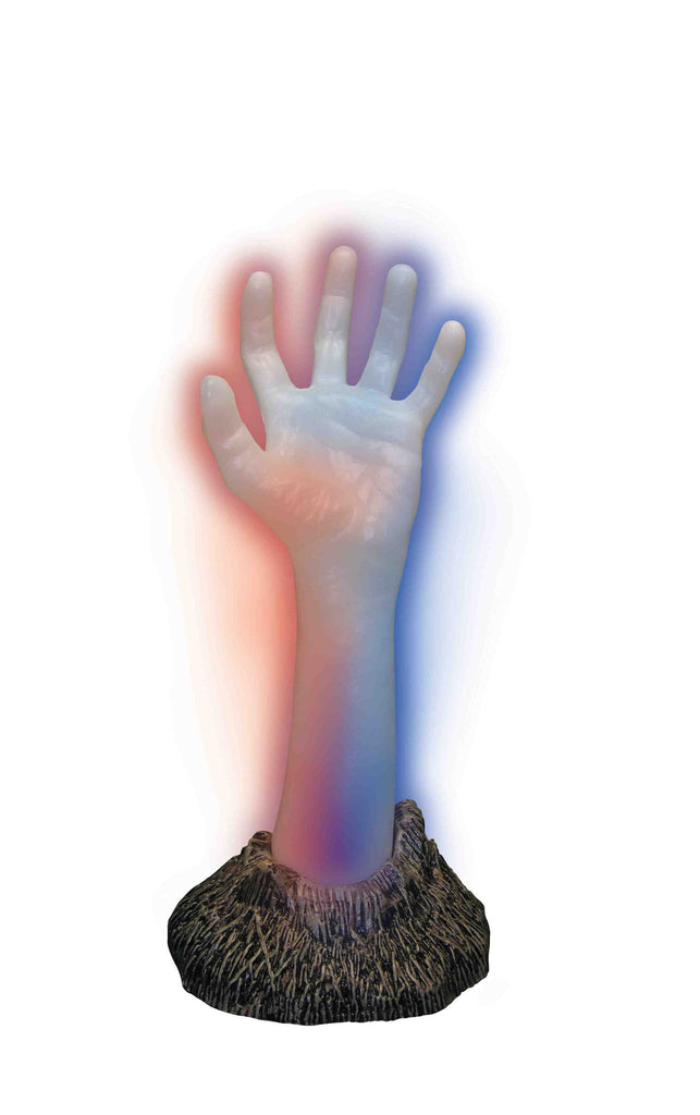 Color Changing Zombie Hand - HalloweenCostumes4U.com - Accessories