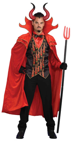 Devil Man Costume Mega Horns - HalloweenCostumes4U.com - Accessories