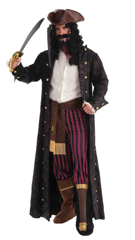 Pirate Coat Adult Pirate Costume Jacket - HalloweenCostumes4U.com - Adult Costumes