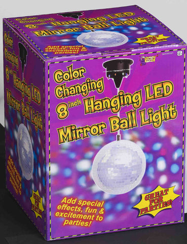 "8"" Hanging Mirror Ball"