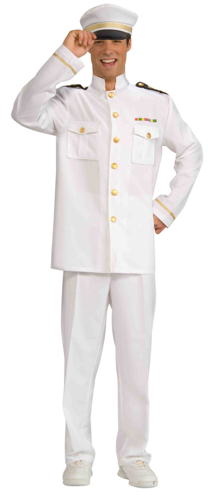 World War II Navy Officer Costume Jacket Adult - HalloweenCostumes4U.com - Adult Costumes