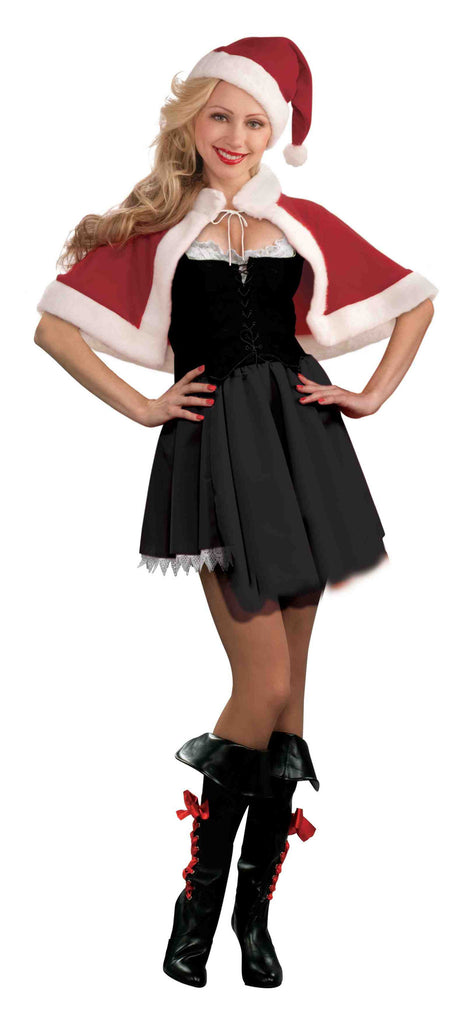 Miss Santa Hat and Capelet for Women - HalloweenCostumes4U.com - Holidays