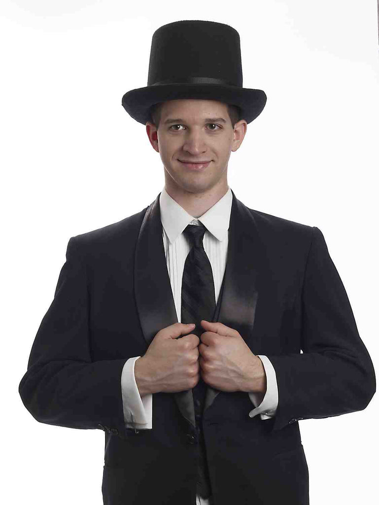 Presidential Costume Top Hat Black - HalloweenCostumes4U.com - Accessories