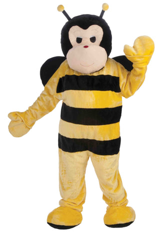 Deluxe Plush Bumble Bee Mascot - HalloweenCostumes4U.com - Adult Costumes