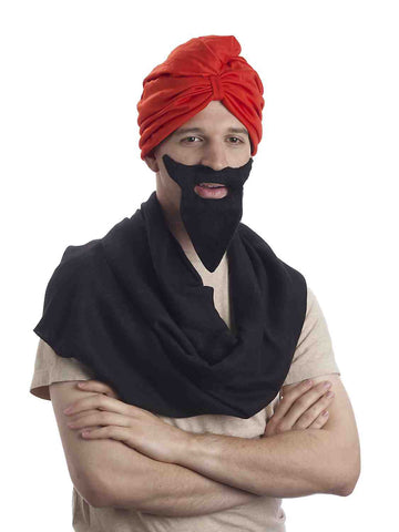 Turban Hat Red Arabian Turban - HalloweenCostumes4U.com - Accessories