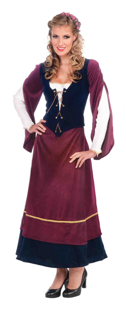 Womens Medieval Wench Renaissance Costume - HalloweenCostumes4U.com - Adult Costumes