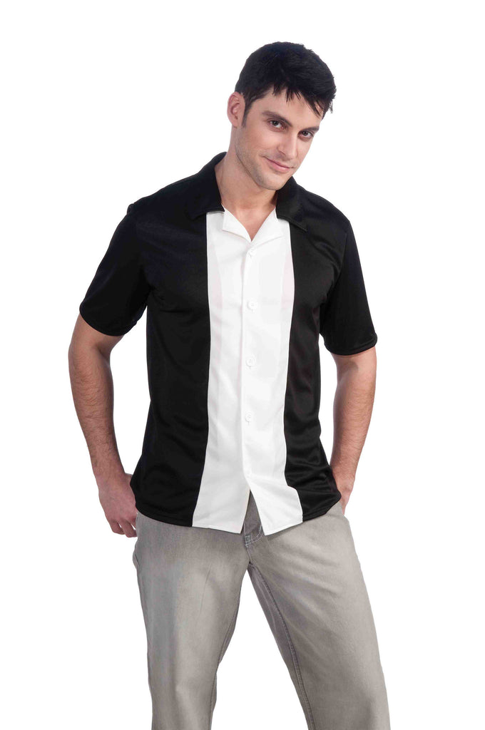 Mens 50s Bowling Shirt - HalloweenCostumes4U.com - Adult Costumes