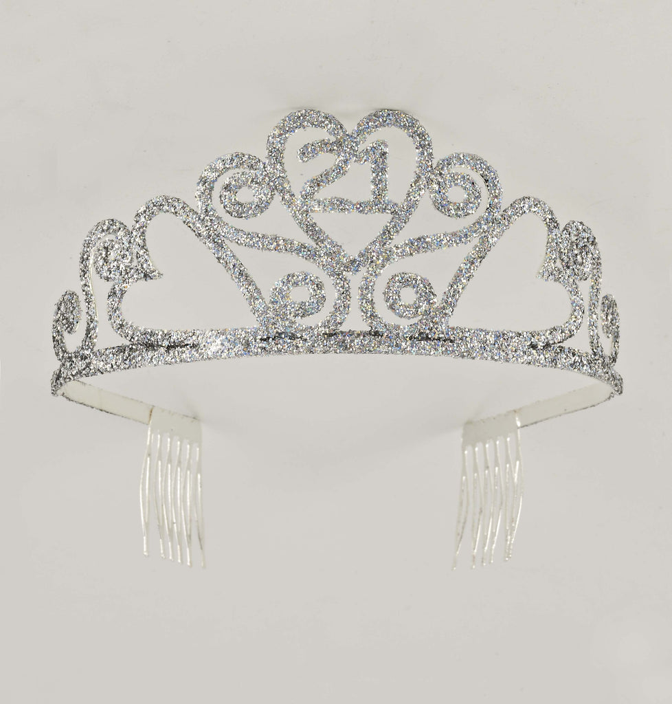 Glitter Birth.Tiara-21 - HalloweenCostumes4U.com - Accessories