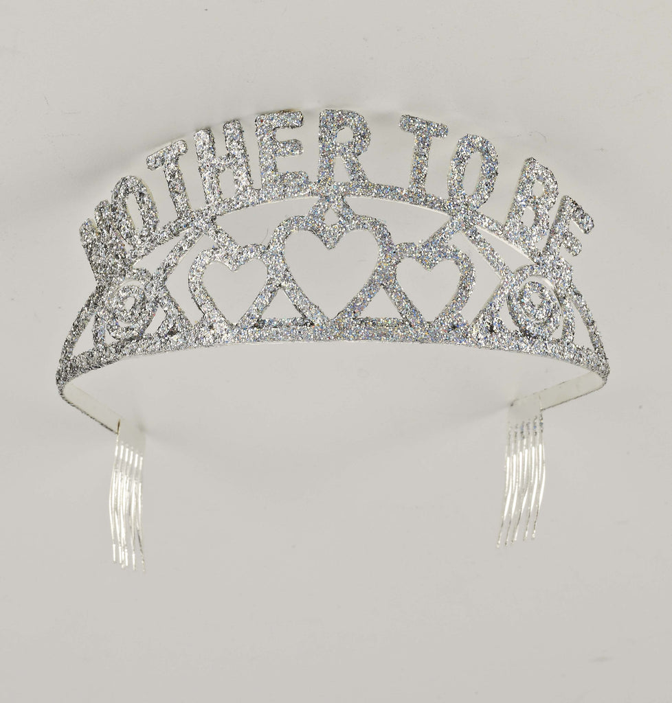 Glitter Tiara-Mother To Be - HalloweenCostumes4U.com - Accessories