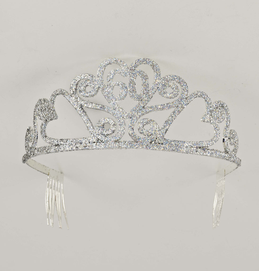 Glitter Birthday Tiara-#60 - HalloweenCostumes4U.com - Accessories