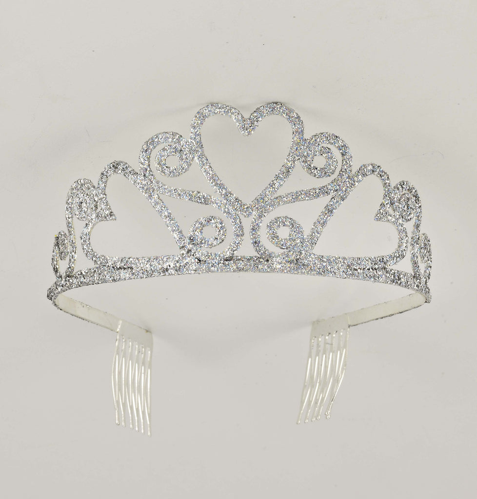 Glitter Tiara-Adult - HalloweenCostumes4U.com - Accessories