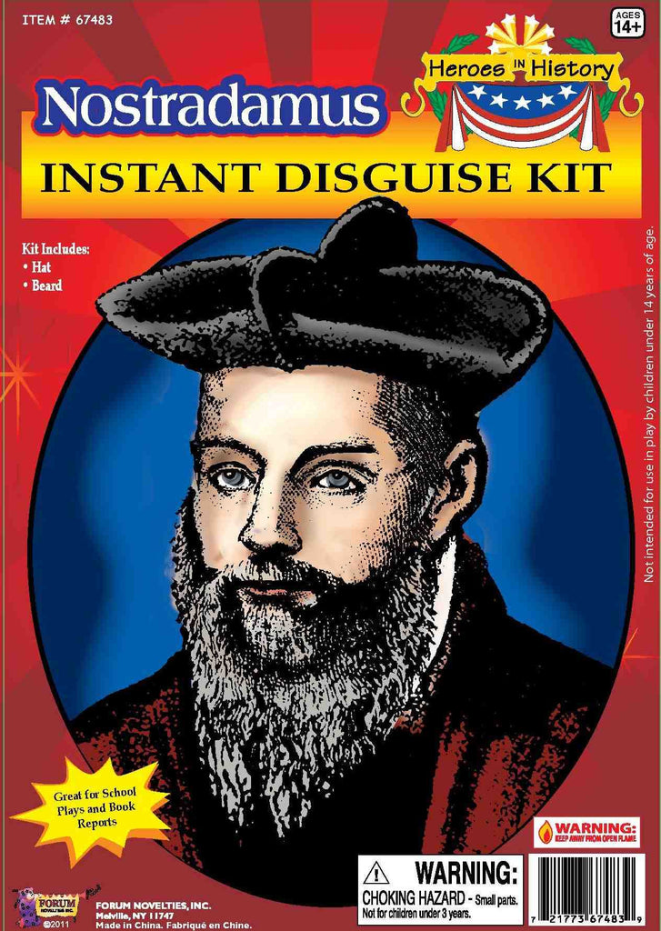 Nostradamus Disguise Kit - HalloweenCostumes4U.com - Accessories