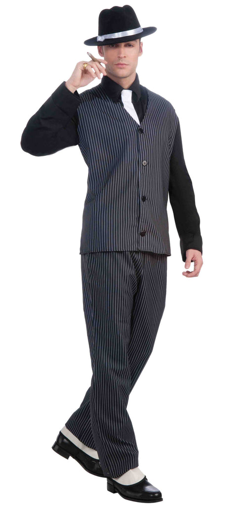 Men's Gangster Halloween Costume 20's Gangster - HalloweenCostumes4U.com - Adult Costumes