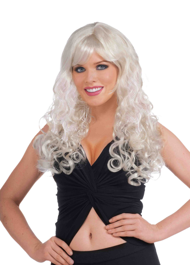 Gothic Blonde Costume Wig Suzette Wig - HalloweenCostumes4U.com - Accessories