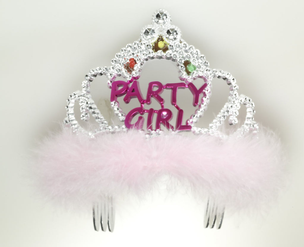 Flashing Tiara-Party Girl - HalloweenCostumes4U.com - Accessories