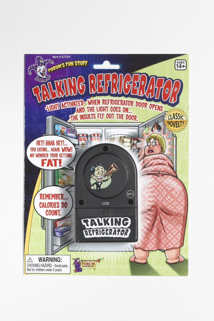 Talking Refrigerator Insult Gag Device