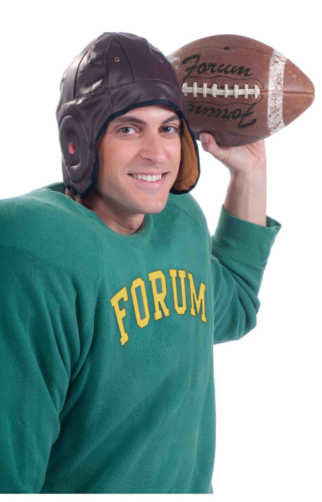 Retro Football Player Costume Helmet - HalloweenCostumes4U.com - Accessories