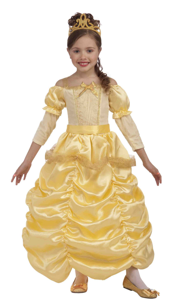 Gold Princess Costumes for Little Girls