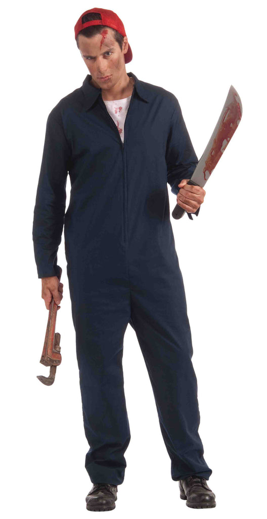Halloween Deranged Mechanic Man Costume - HalloweenCostumes4U.com - Adult Costumes