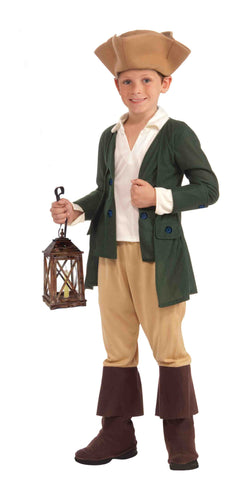Boys Paul Revere Costume - HalloweenCostumes4U.com - Kids Costumes